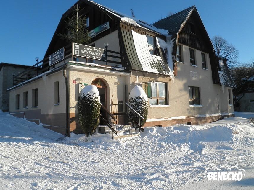 Penzion Mja - Ubytovn BENECKO, penziony, chaty