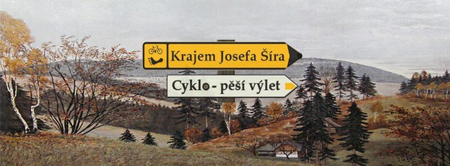 Through the home region of writer Josef Šír
